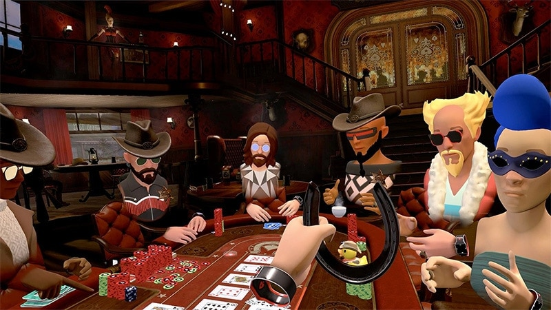 PokerStars VR Saloon