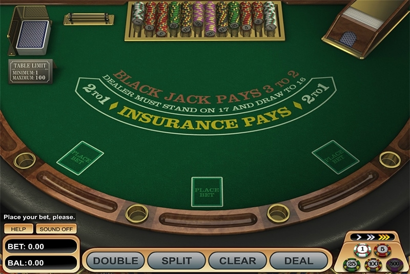 Blackjack at Unique Casino