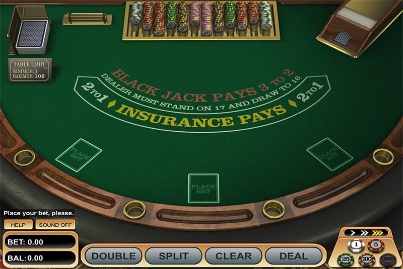 Blackjack at Unique Casino
