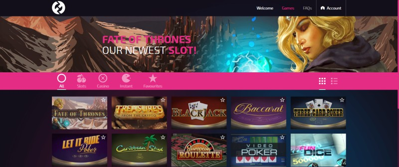 FunFair Demo Casino Games