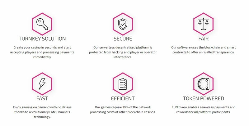 Advantages of FunFair Cryptocurrency