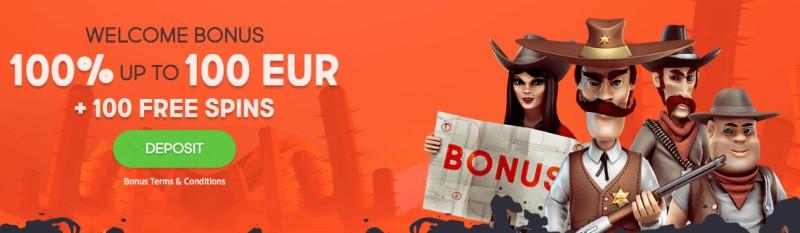 Gunsbet Casino Deposit Bonus