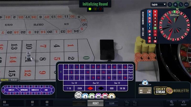 Live Dealer Roulette at Unique Casino