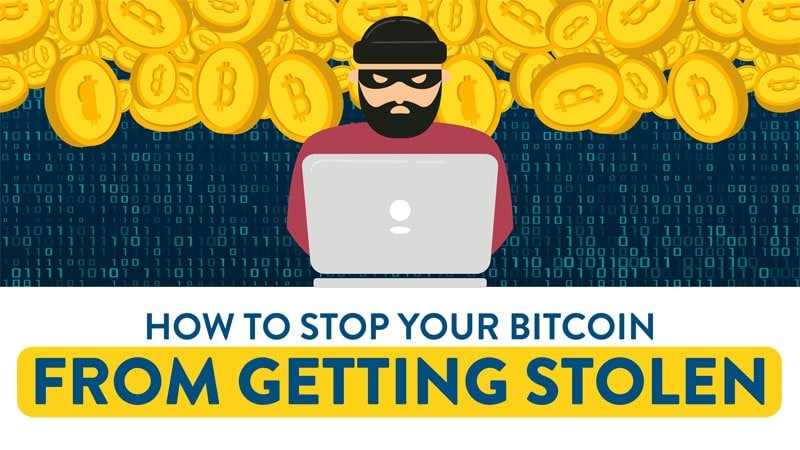 How to Protect Your Bitcoin from Getting Stolen (Infographic)