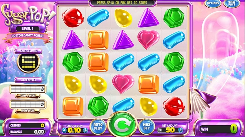 Betsoft Sugarpop Slot