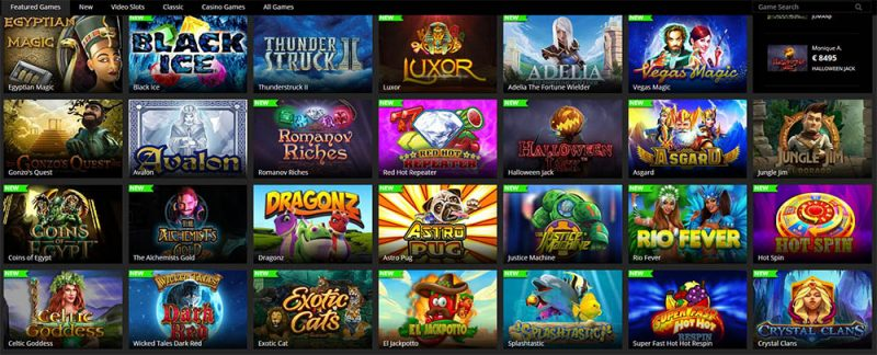 Barbados Casino Game Lobby