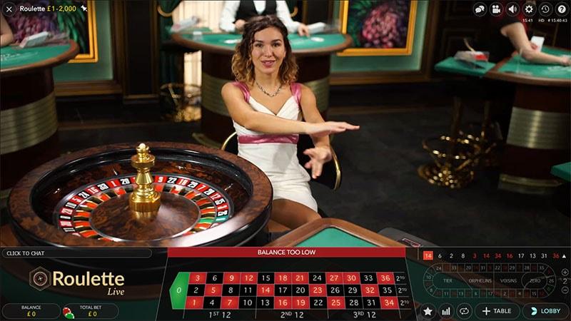 Barbados Casino live dealer roulette
