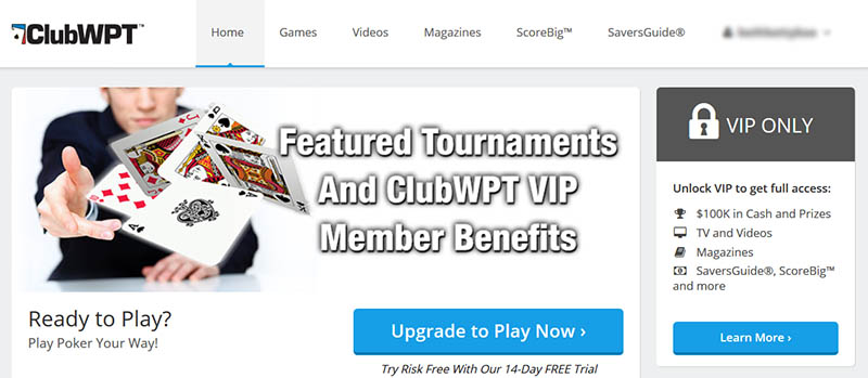 ClubWPT VIP Subscription