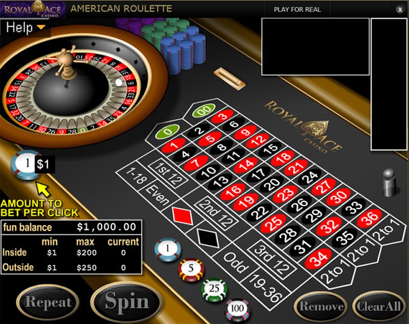Royal Ace Casino Roulette