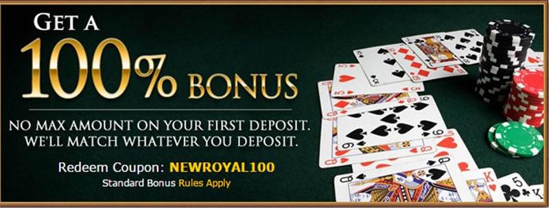 Royal Ace Casino Bonus