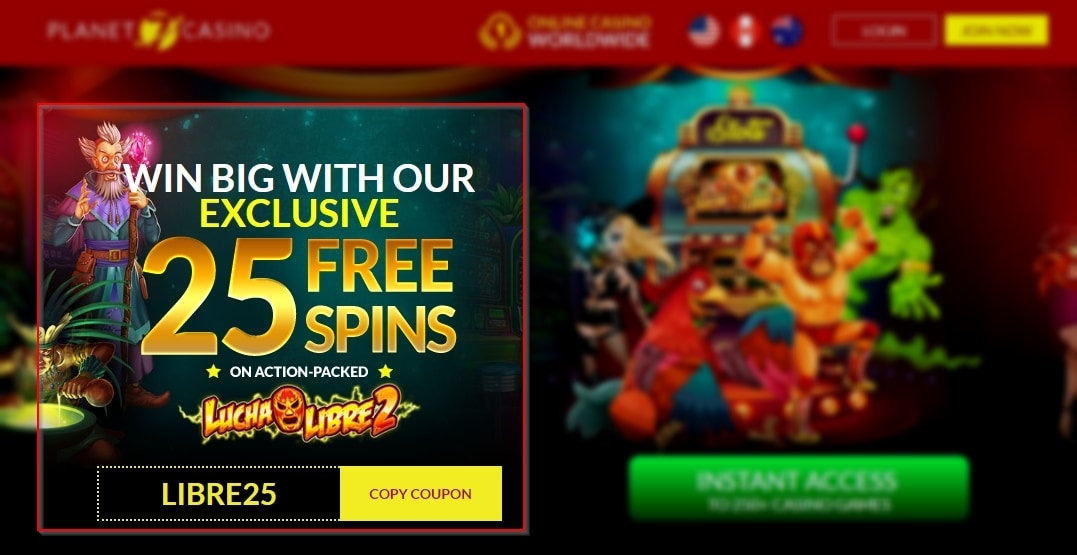 Planet 7 Casino Review for 2019 - The