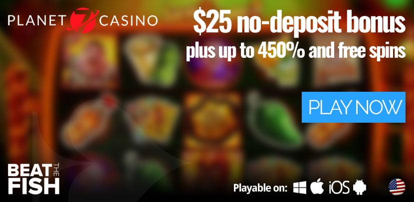Play Now at Planet 7 Casino
