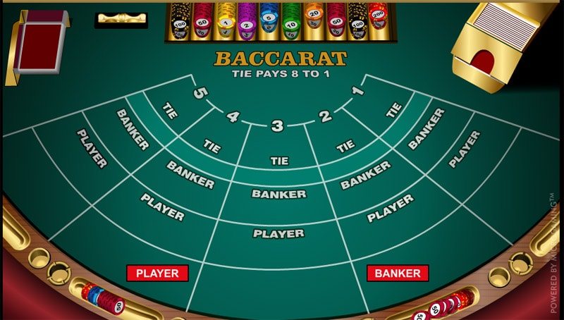 Baccarat Selection at Black Diamond