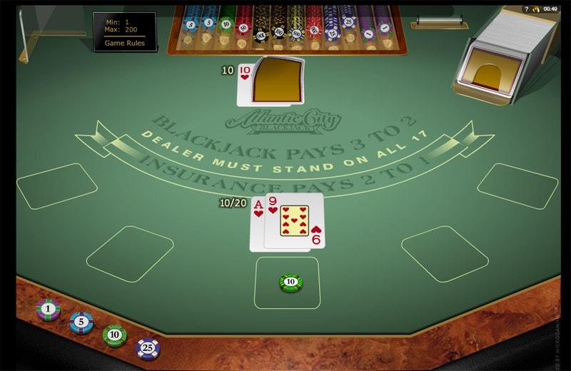 Black Diamond Casino Blackjack