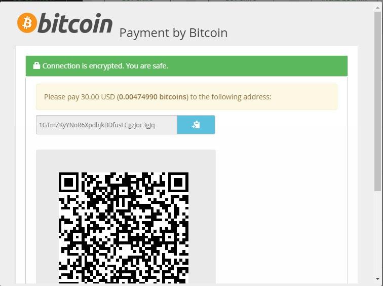 Bitcoin Deposit Method