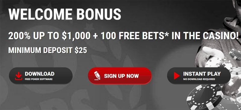 Intertops Poker Deposit Bonus