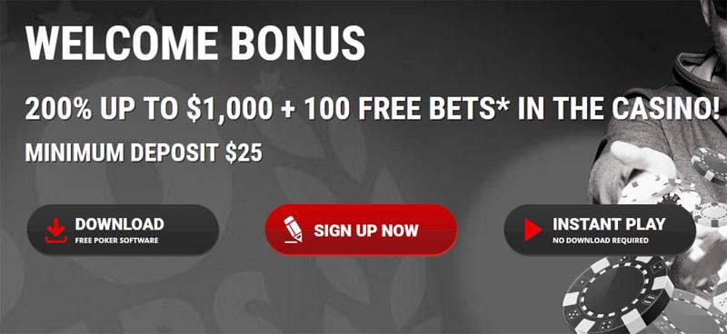 Intertops Poker Deposit Bonus