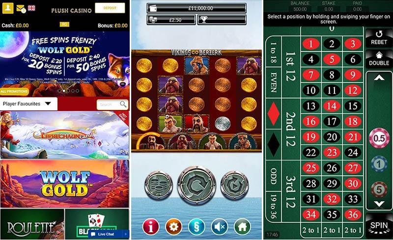 Plush Mobile Casino