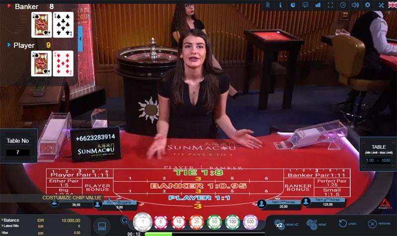 Live Baccarat Dealer