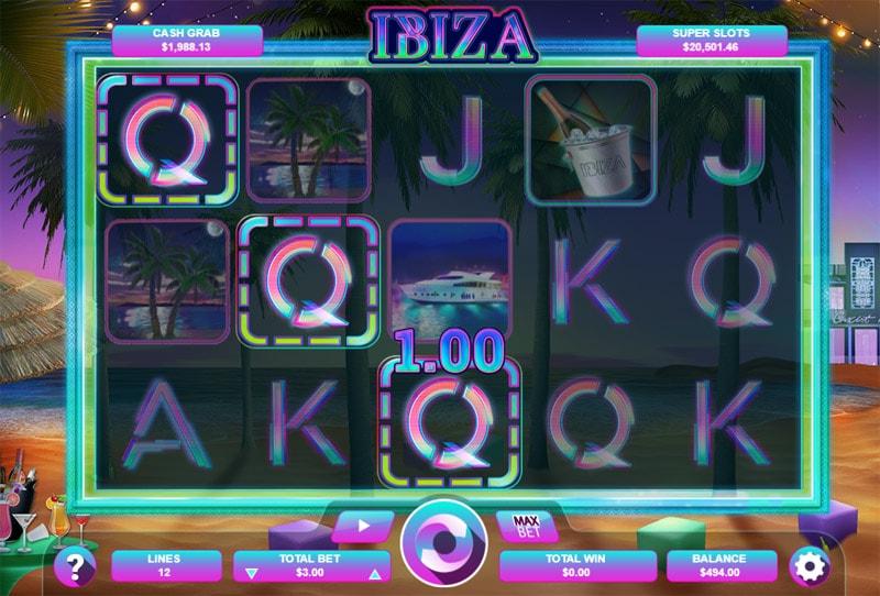 Ibiza Video Slot