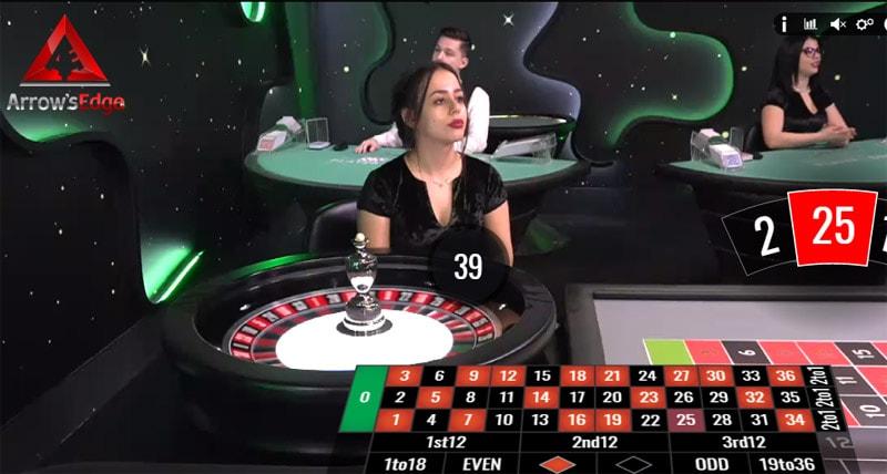Live Dealer Roulette at Drake Casino