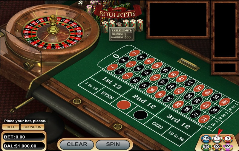 Classic Roulette Table