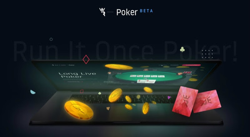 Run It Once Poker launched