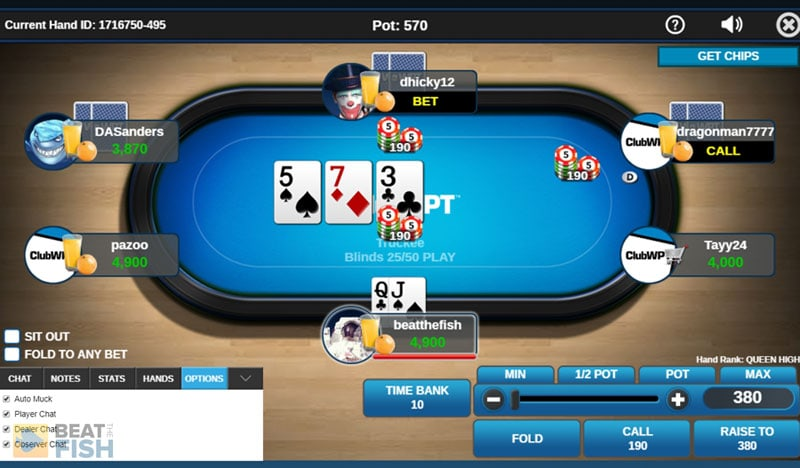 ClubWPT on Mobile