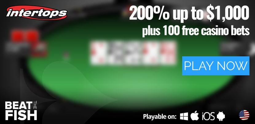 Play Now at Intertops Poker