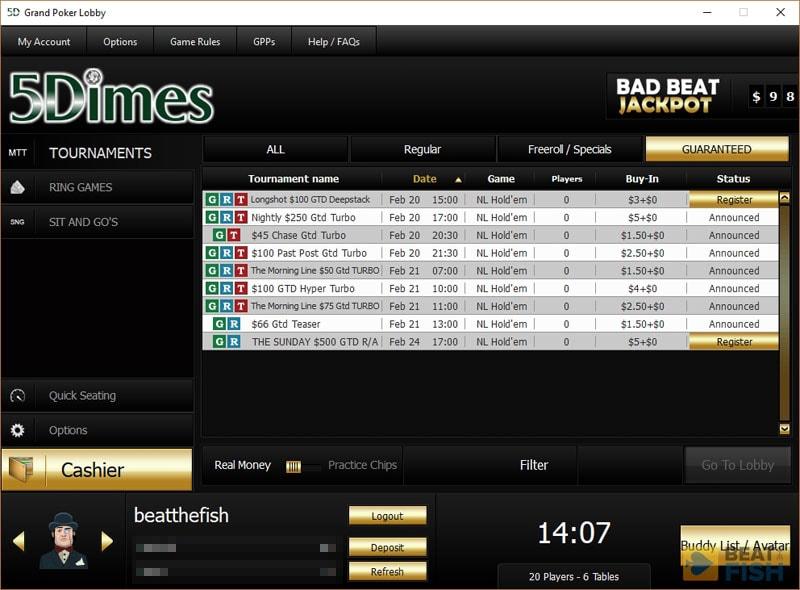Grand Poker Tournaments