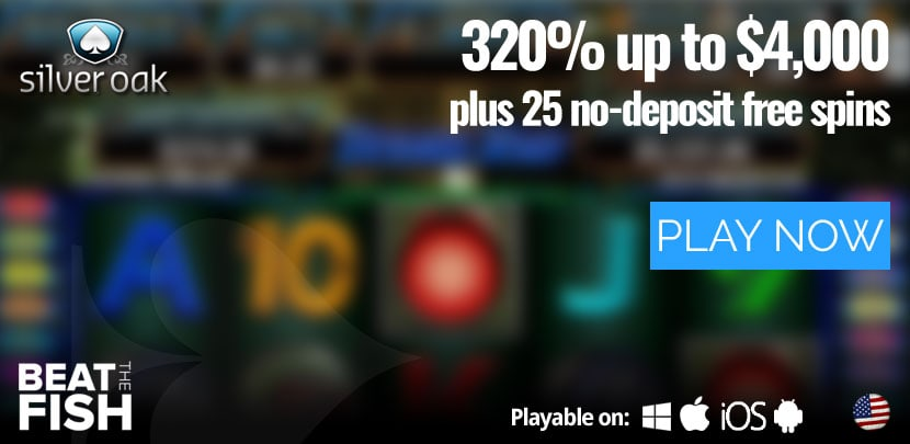 Play Now at Silver Oak Casino