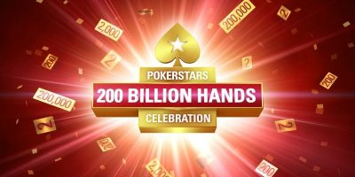 PokerStars Deals 200 Billionth Hand, Pays $10K to Players
