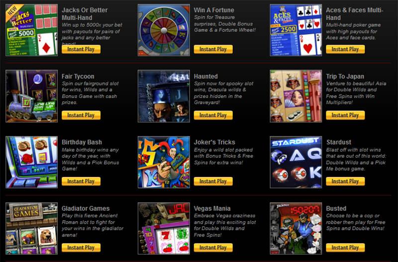 Slotland slot games.