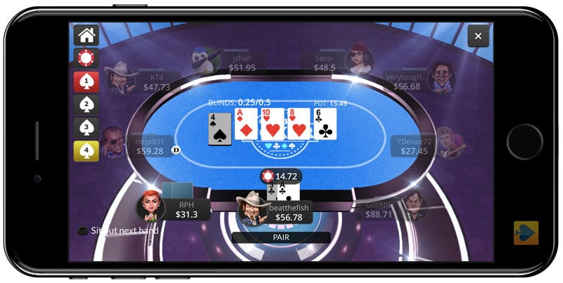 Global Poker on Mobile for Real Money