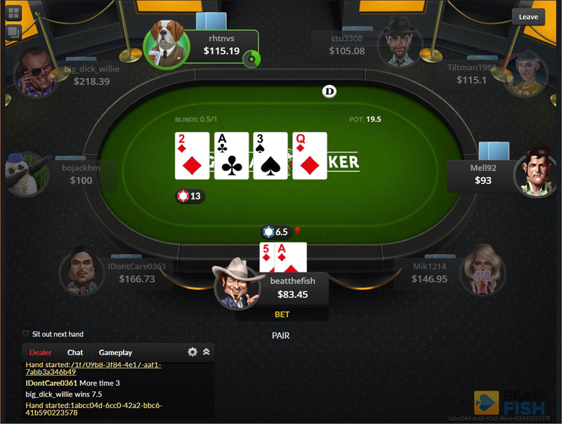 Global Poker Soft Players