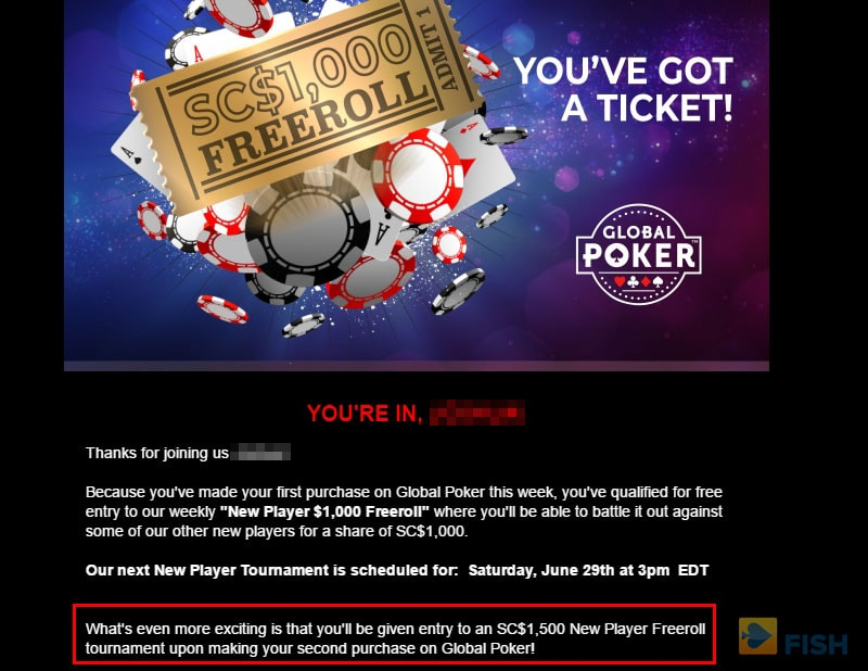 Global Poker Freeroll