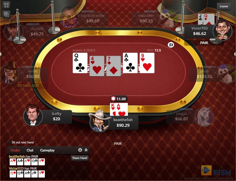 Loose Tables at Global Poker