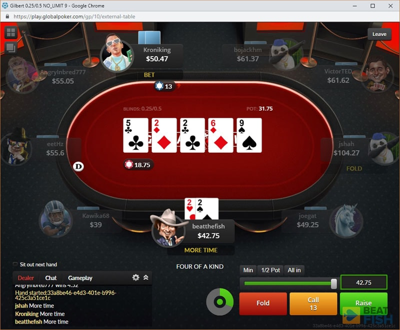 Global Poker without Downloading