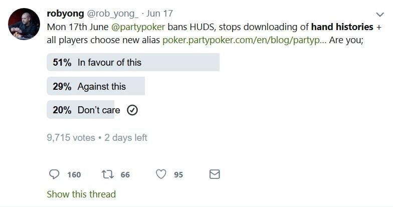 partypoker hand history twitter survey