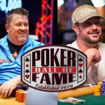 Dave Oppenheim Chris Moneymaker Poker Hall of Fame 2019