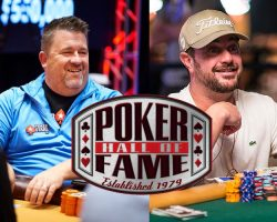Poker Hall of Fame Welcomes Chris Moneymaker and David Oppenheim