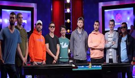 Five Left in the WSOP Main Event, Competing for Their 1st Bracelet