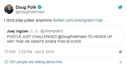 Doug Polk Refusing the Invitation
