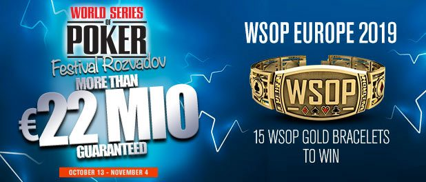 2019 World Series of Poker Europe Main Events