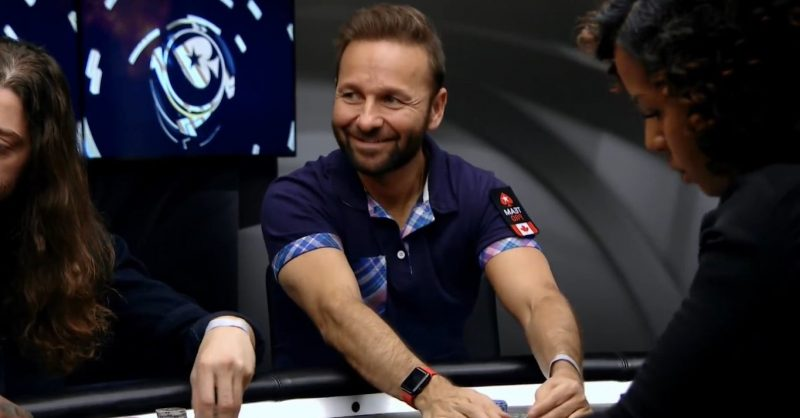 Daniel Negreanu Plays with no re-entries in 2020