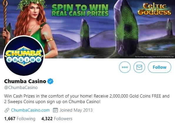 Chumba Casino Bonus Twitter