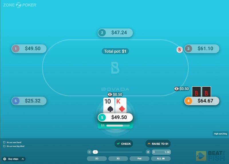 New Bovada Poker Software