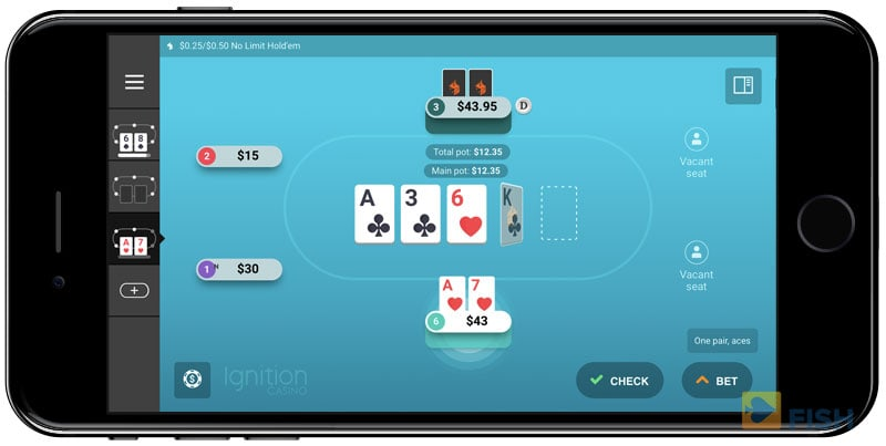Zone Poker on Mobile Software