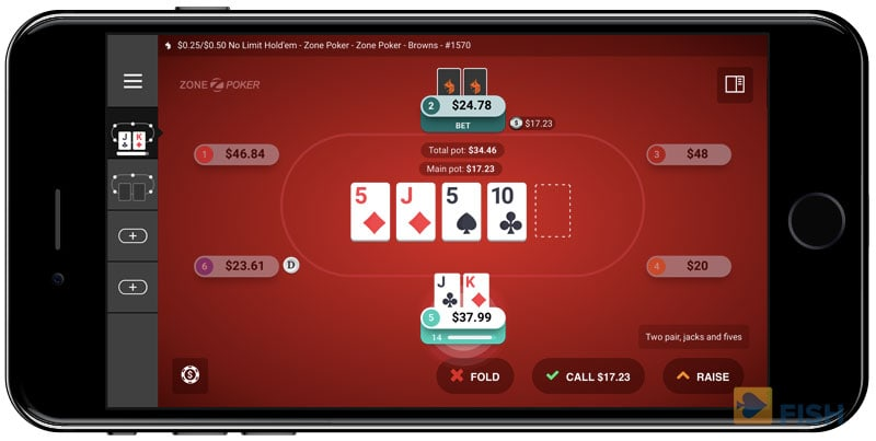 Ignition Poker Mobile Play