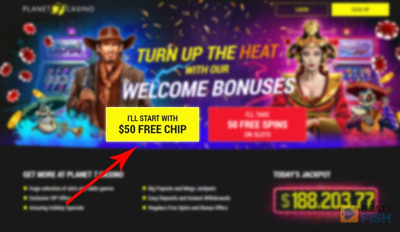 Planet 7 Casino No Deposit Bonus
